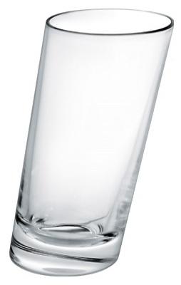 Стакан стеклянный наклонный 360 мл, фото 2