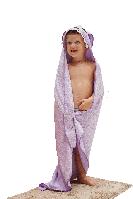 Детское  полотенце  KOKO violet 100x100 cm (po0001)