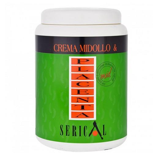 Маска для волос с растительной плацентой Serical Crema Midollo & Placenta 1000мл