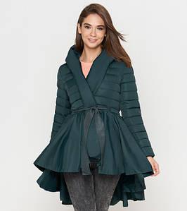 Tiger Force 1830 | Осенняя женская куртка зеленая