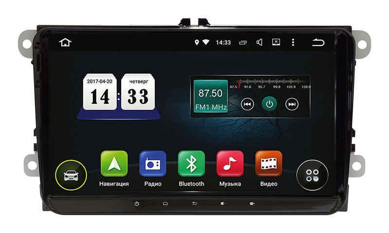 """Штатная магнитола  Incar Volkswagen Passat B6 Android 8 сенсорные кнопки 9"""", шт"""