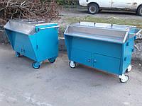 Изотермическая тележка бу., тележка для уличной торговли б у., фото 1