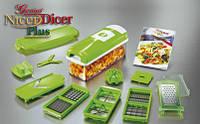 Измельчитель кухонный овощерезка Найсер Дайсер Плюс Nicer Dicer Plus
