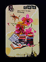 Зеркальце Книги и цветы карманное косметическое 70х70мм. 058191