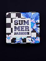 Зеркало карманное Summer Fashion 60х60мм. 057521