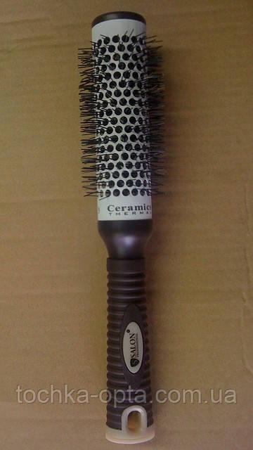 Брашинг для волос SALON PROFESSIONAL с керамической поверхностью(9883)