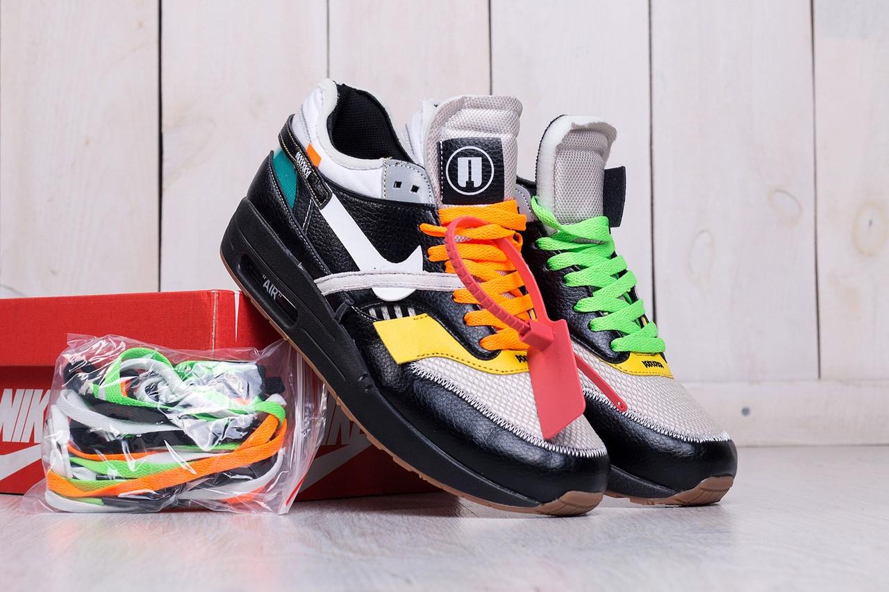 12c929b3002 Мужские кроссовки Off-White X Nike Air Max 87 Retro, Реплика - Интернет-
