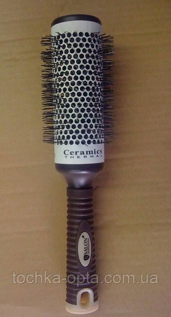 Брашинг для волос SALON PROFESSIONAL с керамической поверхностью(9884)