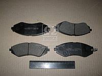 Колодка тормозная CHEVROLET LACETTI/NUBIRA передняя (пр-во ABS) 37526