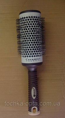 Брашинг для волос SALON PROFESSIONAL с керамической поверхностью(9885)