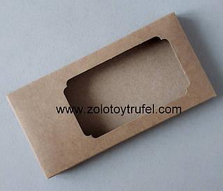 "Коробка ""Для шоколада крафтовая 16*8*1,7 см"", 5 шт"