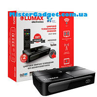 Тв тюнер DVB-Т2 LUMAX DV-2118HD цифровой ресивер