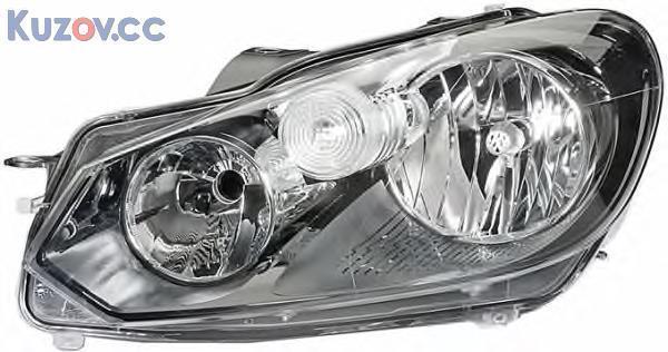 Фара VW Golf VI 09-12 левая (Depo) электрич. 5K1941005L