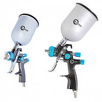 """Профессиональный краскораспылитель LVLP Blue New, 1.4 мм, бачок 600 мл, 1.5 атм """"Intertool PT-0133"""""""