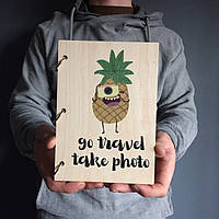 Блокнот Go travel take photo А5 15x21,5см
