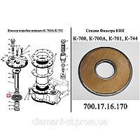 Секция масляного фильтра МТЗ-80, 80-1716080