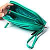 Женская косметичка зеленая из натуральной кожи Butun 665-004-100, фото 4