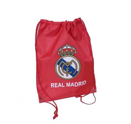 Рюкзак-мешок для обуви ФК Реал !Распродажа!, фото 2