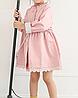Курточка-плащ розовая