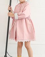 Курточка-плащ розовая, фото 1