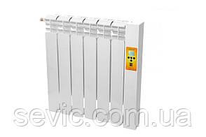 Электрический радиатор с климат - контролем (6 секций)