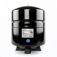 """Бак накопительный для систем ОO, металлический, объем 12 л, BLACK, 1/4 """", Тайвань, SPT-45BK"""