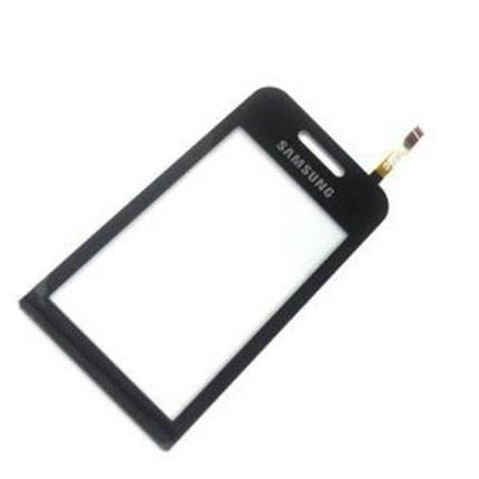 Сенсор сенсорное стекло тачскрин samsung S5230 чёрный AAA, фото 2