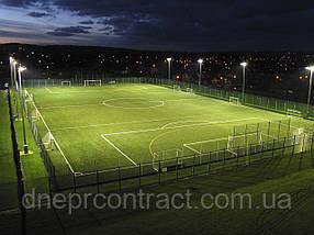 Строительство мини футбольного поля с искусственным покрытием