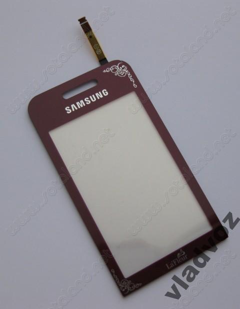 Сенсор samsung s5230 сенсорное стекло тачскрин lafleur красный AAA