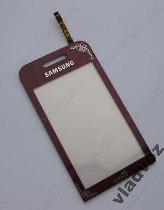 Сенсор samsung s5230 сенсорное стекло тачскрин lafleur красный AAA, фото 2