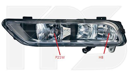 (ПТФ) Противотуманная фара VW Passat B7 '11-15 левая (FPS) с функцией