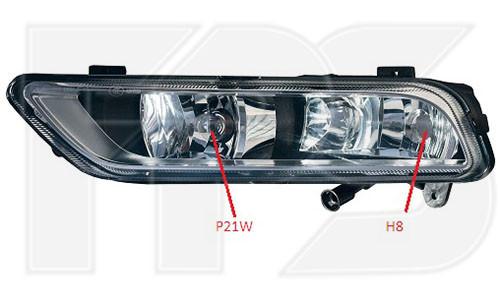(ПТФ) Противотуманная фара VW Passat B7 '11-15 правая (FPS) с функцией