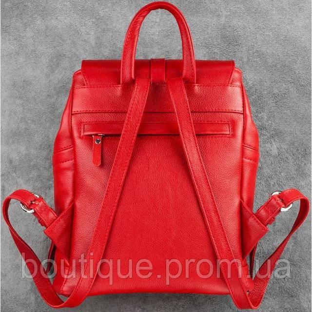 335fd3dcd2b4 Кожаный рюкзак BlankNote Олсен Рубин BN-BAG-13-rubin красный, цена 4 ...