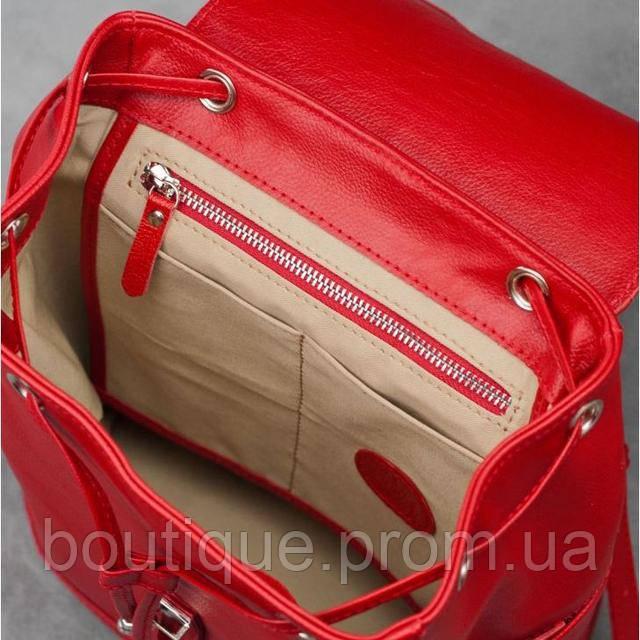 3648f87f8370 Кожаный рюкзак BlankNote Олсен Рубин BN-BAG-13-rubin красный, цена 4 ...