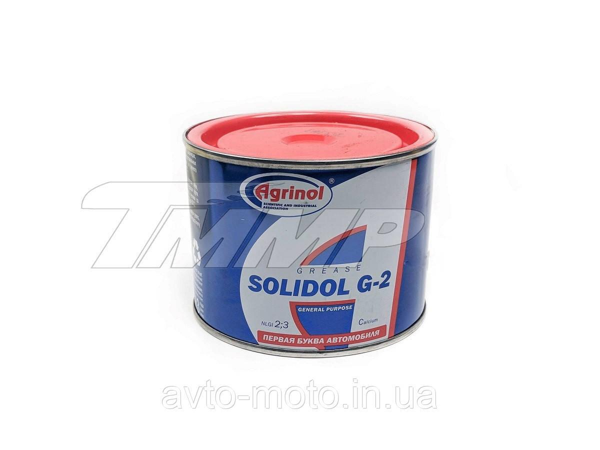 Мастило солідол жировий AGRINOL 0,400 кг G-2