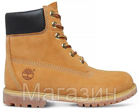 b3f5e74c Зимние женские ботинки Timberland 6 С МЕХОМ Тимберленд зима желтые, фото 2