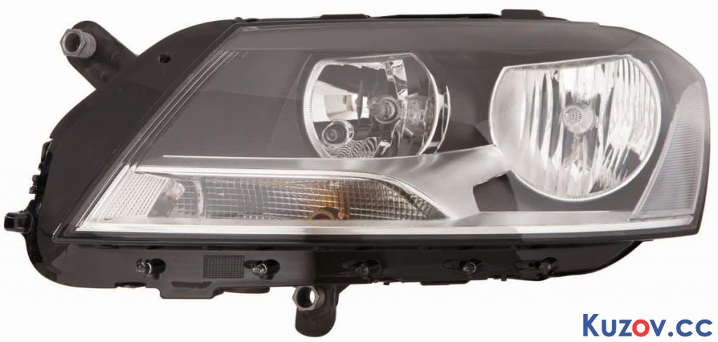 Фара VW Passat B7 10-14 левая (Depo) электрическая 441-11G5LMLDEM2