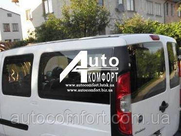 Установка (врезка) стекла на Fiat Doblo 2000- (Фиат Добло 2000-)