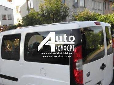 Установка (врезка) стекла на Fiat Doblo 2000- (Фиат Добло 2000-), фото 2