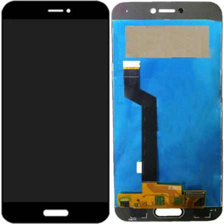 Дисплей для Xiaomi Mi5c с тачскрином черный Оригинал
