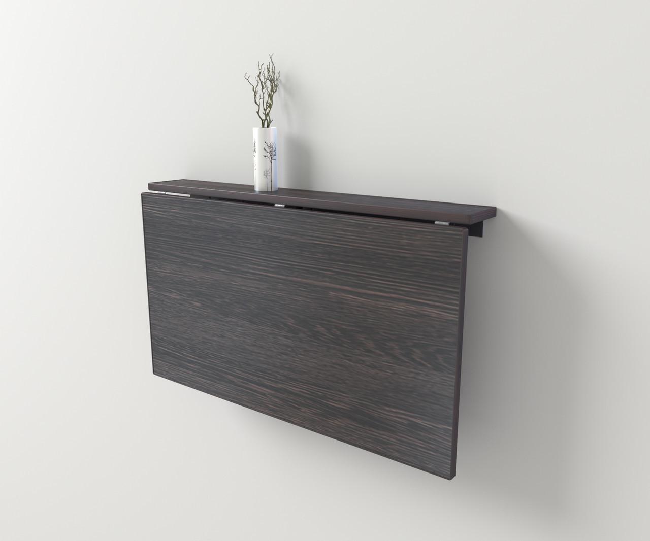 Стіл настінний/відкидний 90*50 см Венге аруша