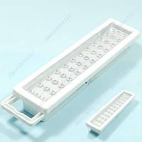 Светодиодная аккумуляторная лампа 36LED для аварийного освещения