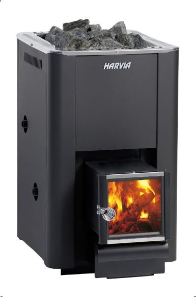 Дровяная печь для сауны и бани Harvia 20 Boiler