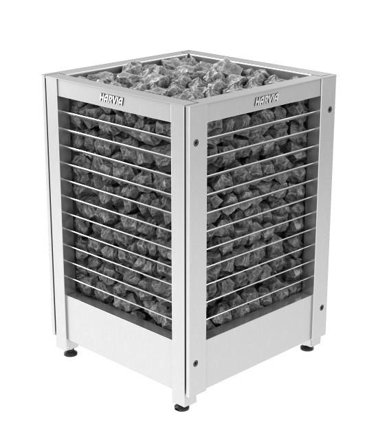 Электрическая печь для сауны Harvia MODULO MDS180G  steеl