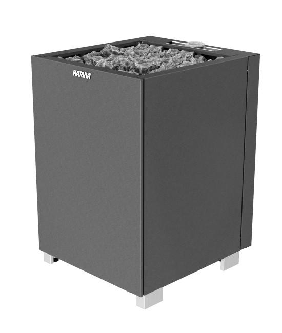 Электрическая печь для сауны Harvia COMBI  MODULO MDS160SA / MD160SA steel/ черный