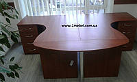 Угловой стол БЮ 114222 (2480*1700*750), фото 1