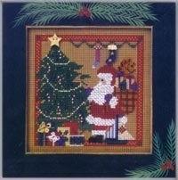 Набор для вышивки Mill Hill Santa's Visit (2002)