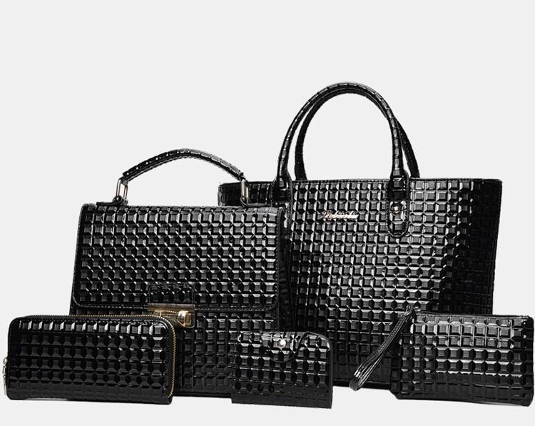 367b2b5f3261 Набор женских сумок 5в1 черный из экокожи , цена 828 грн., купить в ...