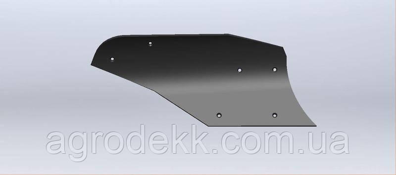 Отвал высокопрочный из композитного материала Tekrone для плуга ПЛН 3-3,5 (5,35) цилиндрический