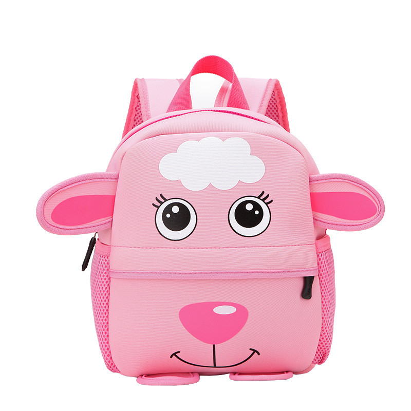 Детский розовый рюкзак Овечка (Sheep)